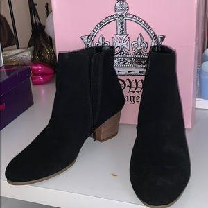 Crown Vintage Shoes - Black Ankle Boots